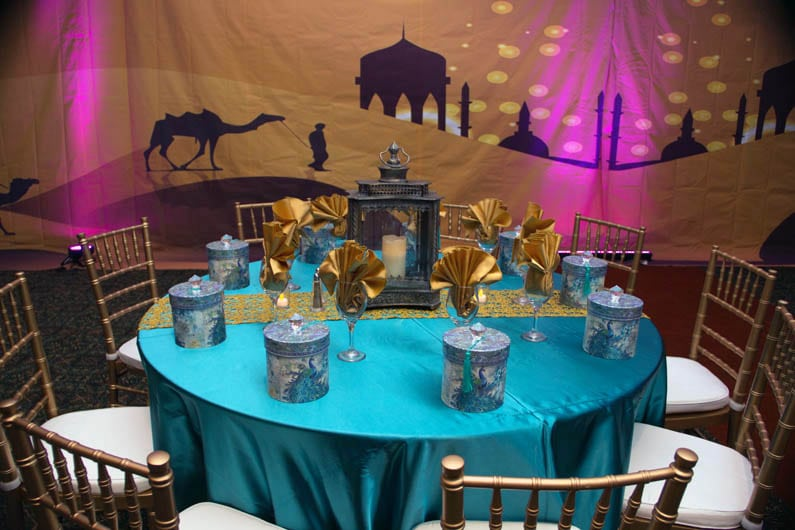 Arabian nights memorable moments for Arabian party decoration
