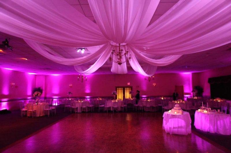 Decoration and lighting memorable moments wedding decoration lighting fredericksburg virginia wedding uplighting with junglespirit Image collections