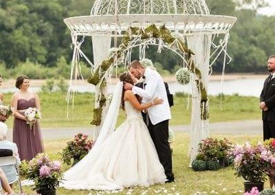 MM Wedding Arch