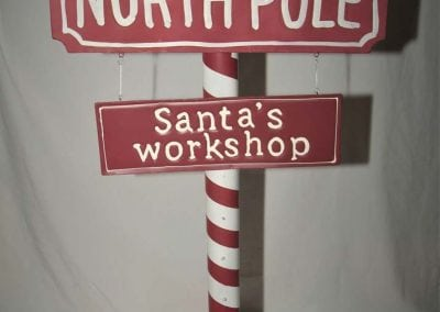 christmas-party-decoration-rental-virginia-north-pole-sign-DSCF0996