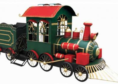 christmas-party-decoration-rental-virginia-train