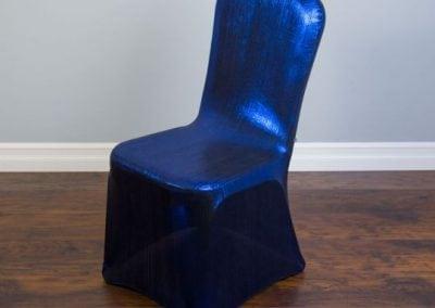 rental-linen-chaircovers-rental-dc-fredericksburg-va-Blue Shimmering-Stretch