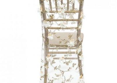 rental-linen-chaircovers-rental-dc-fredericksburg-va-Ivory Roses Chiavari Chair Cover