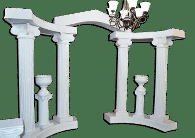 Decorations-Wedding Arch-Rentals-Wedding-Columns-Deluxe