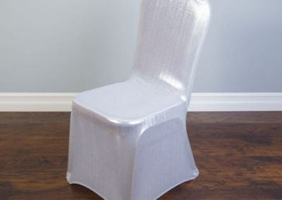 rental-linen-chaircovers-rental-dc-fredericksburg-va-Wht Shimmering-Stretch