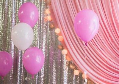 Birthday decorations.