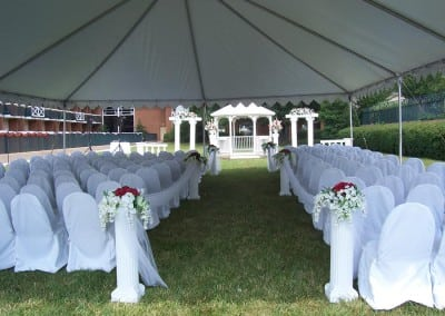Chair cover rental in Washington, DC and Fredericksburg, VA