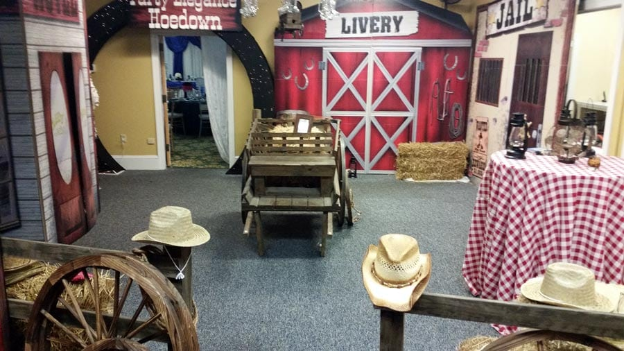 Wild Wild West Party Decorations