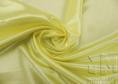 Satin - Light Yellow 335