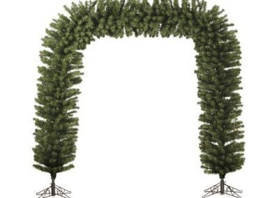 christmas-party-decoration-rental-virginia-arch-tree