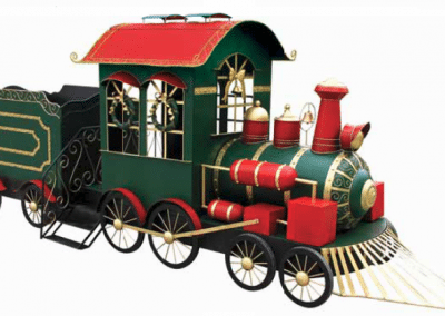 christmas-party-decoration-rental-virginia-train