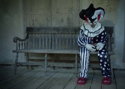 halloween-party-rental-virginia-fredericksburg-sitting-clown
