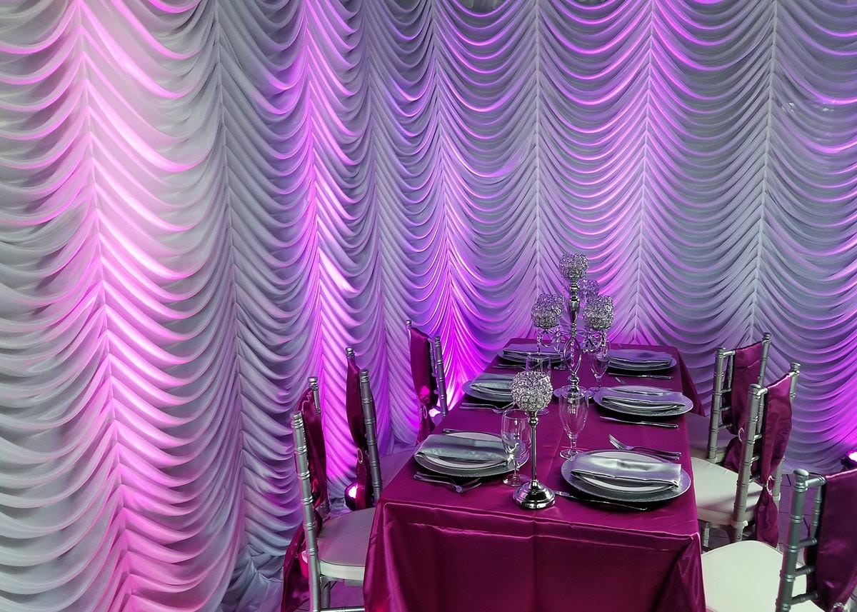 drape renting table pipe and at tours hall supplies head portable drapes tourshalldraping waco using rsvp