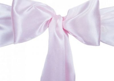 Light Pink Satin Sash