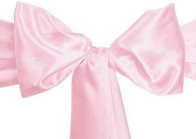 Pink Satin Sash