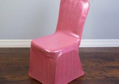 rental-linen-chaircovers-rental-dc-fredericksburg-va-Pink Shimmering-Stretch