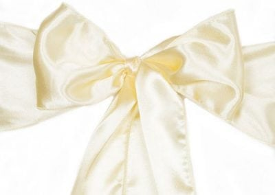 Yellow Satin Sash