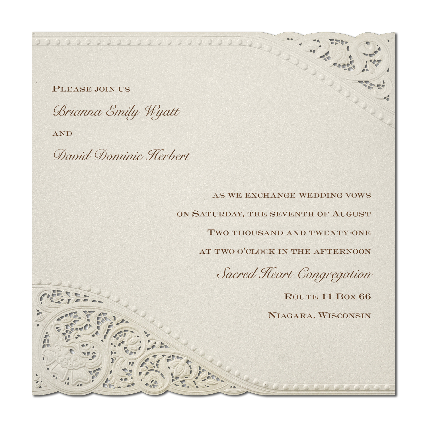 Invitations and Stationary | Memorable Moments